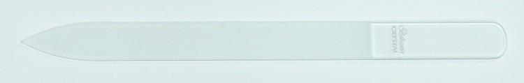 Skleněný pilník 140/2 mm čirý - Péče o ruce Leštičky, leštící bloky a pilníky na nehty pro nehtovou modeláž a manikúru Skleněné a barevné pilníky na manikúru Jednobarevné čiré