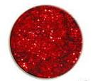 UV gel barevný glitrový Red Glitter 5 ml
