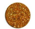UV gel barevný glitrový Gold Glitter 5 ml - Barevné UV gely Glitrové barevné UV gely