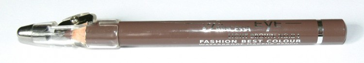 Princessa EYE SHADOW PENCIL tužka stínovací voděodolná s ořezávátkem světle hnědá - Dekorativní kosmetika Tužky stínovací