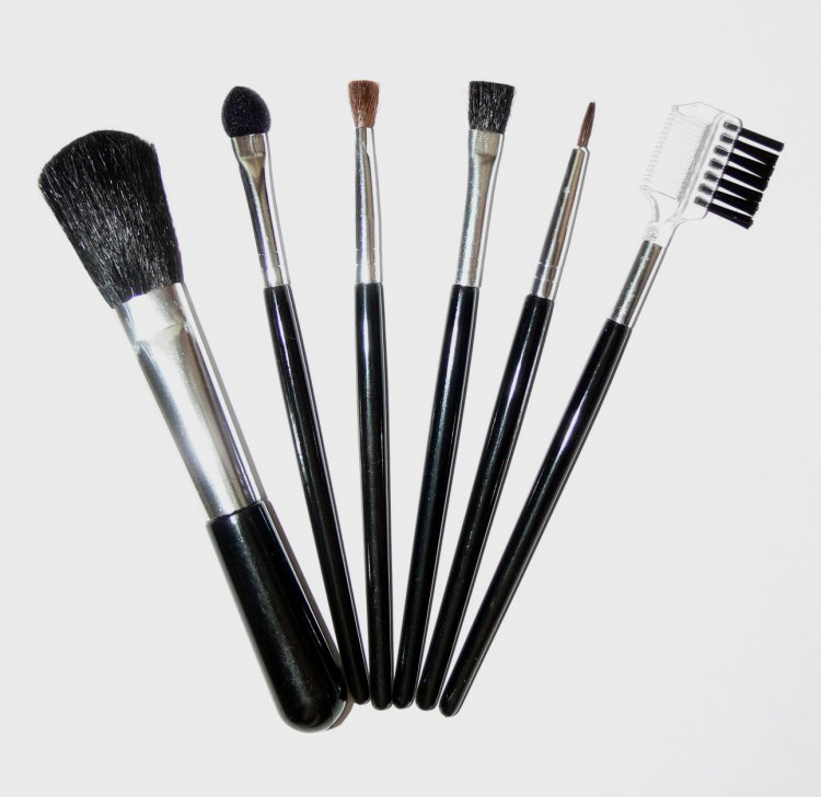Sada kosmetických štětců - 7 ks - Péče o ruce Dekorativní kosmetika Kosmetické štětce