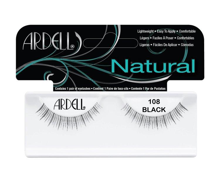 Nalepovací řasy Ardell Fashion Lashes 108 black - Umělé řasy a trsy Nalepovací řasy Ardell