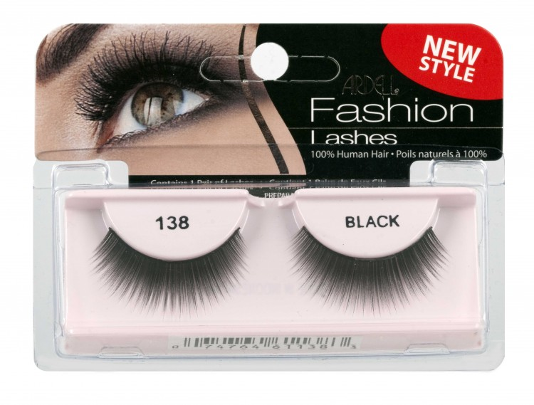 Nalepovací řasy Ardell Fashion Lashes 138 black - Umělé řasy a trsy Nalepovací řasy Ardell