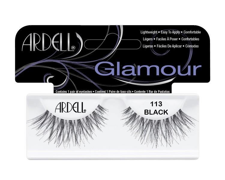 Nalepovací řasy Ardell Glamour Lashes 113 black