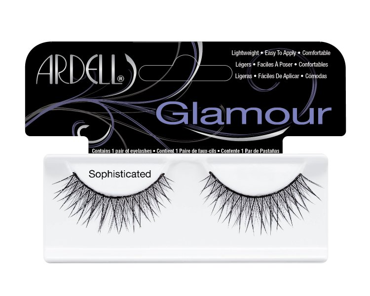 Nalepovací řasy Ardell Glamour Lashes Sophisticated black