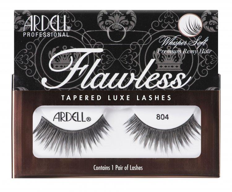 Nalepovací řasy Ardell Flawless Lashes 804 black - Umělé řasy a trsy Nalepovací řasy Ardell