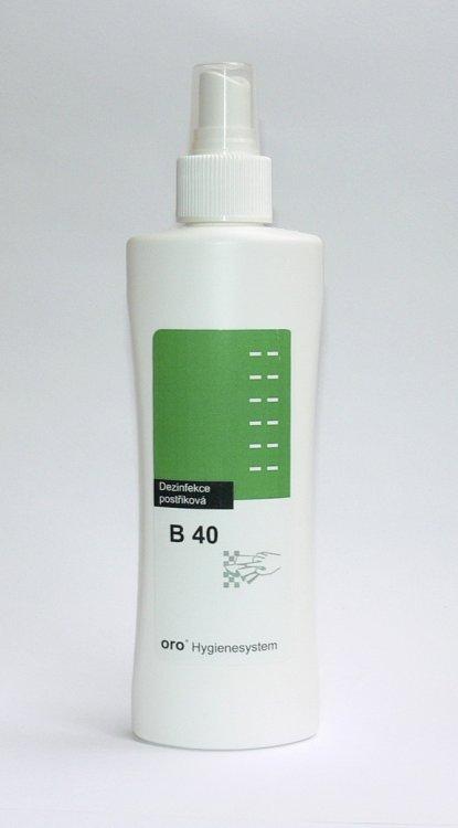 Dezinfekce postřiková na plochy a nástroje B40 ve spreji 200 ml - Péče o ruce Dezinfekce a hygiena Dezinfekce na nástroje a plochy