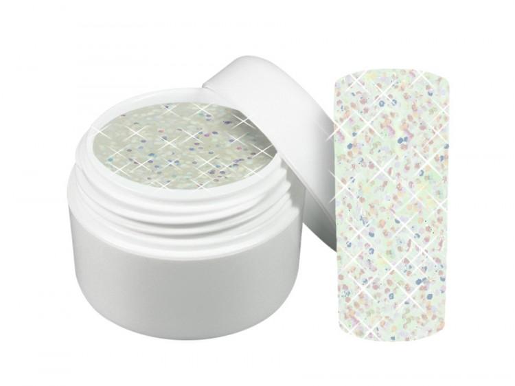 UV gel barevný třpytivý Mystery 5 ml - Barevné UV gely Třpytivé barevné UV gely