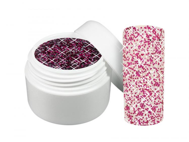 UV gel barevný třpytivý Desire 5 ml - Barevné UV gely Třpytivé barevné UV gely