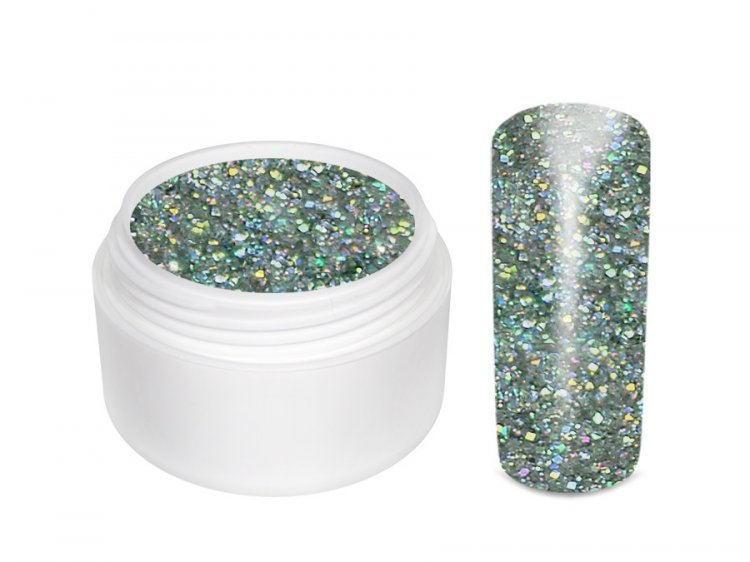 UV gel barevný Extrem Glitter Diamant 5 ml