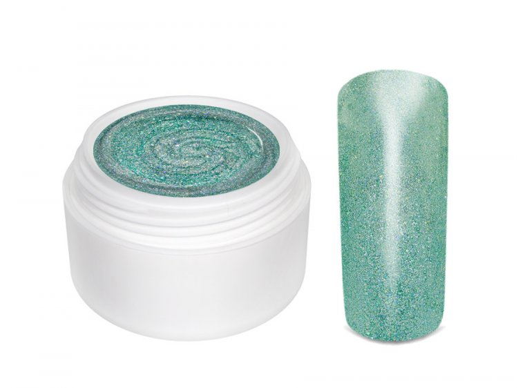 UV gel barevný Extrem Glimmer Amulet 5 ml - Péče o ruce Barevné UV gely Třpytivé barevné UV gely