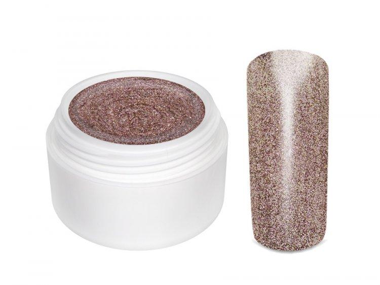 UV gel barevný Extrem Glimmer Cinnamon 5 ml - Péče o ruce Barevné UV gely Třpytivé barevné UV gely