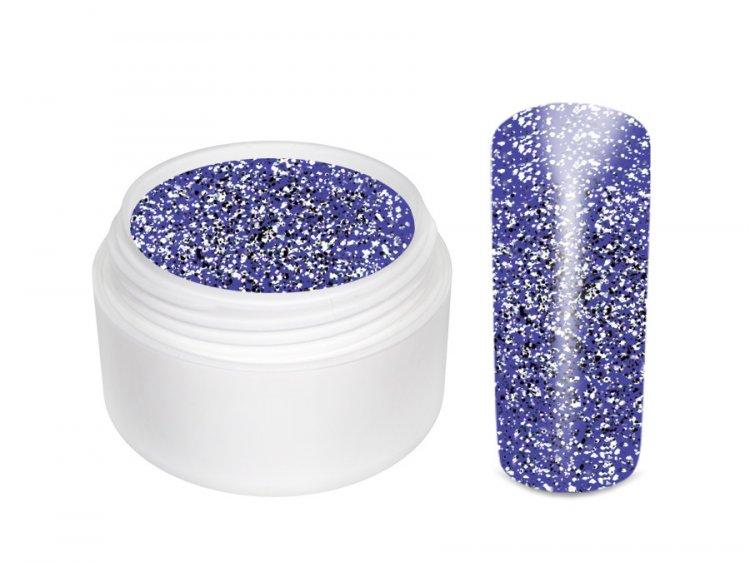 UV gel barevný Extrem Glitter Lila 5 ml - Barevné UV gely Glitrové barevné UV gely