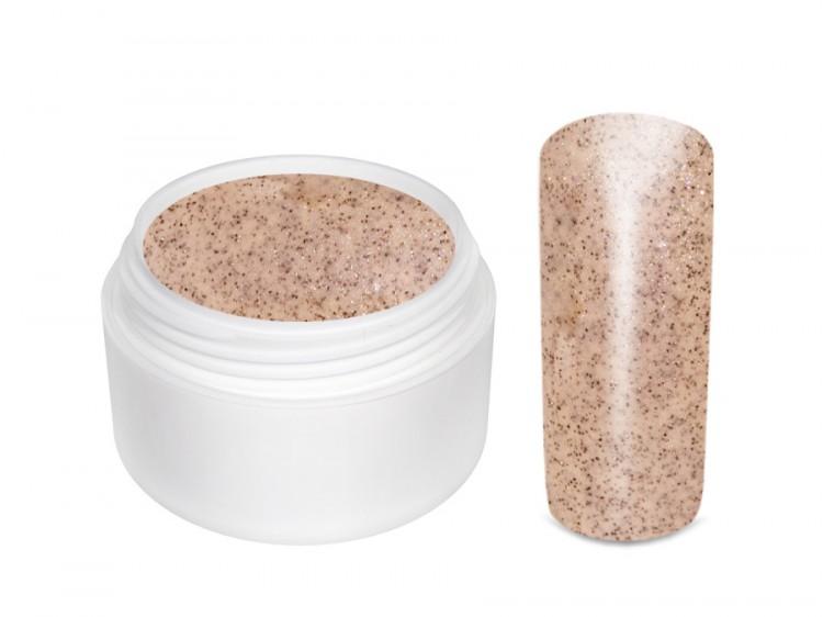 UV gel barevný glitrový Nude 5 ml - Barevné UV gely Glitrové barevné UV gely