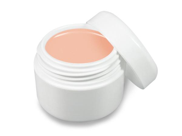 UV gel barevný pastelový broskvový 5 ml - Barevné UV gely Neonové a pastelové barevné UV gely