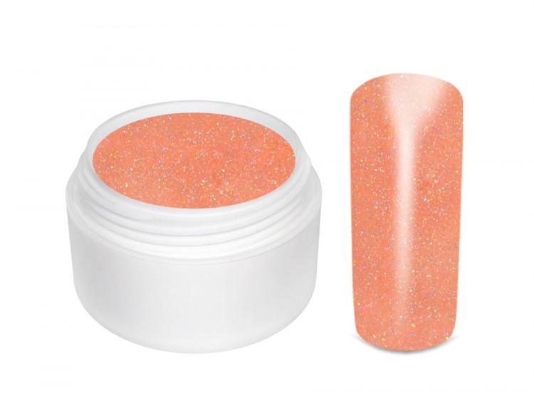 UV gel barevný glitrový Salmon 5 ml - Barevné UV gely Glitrové barevné UV gely