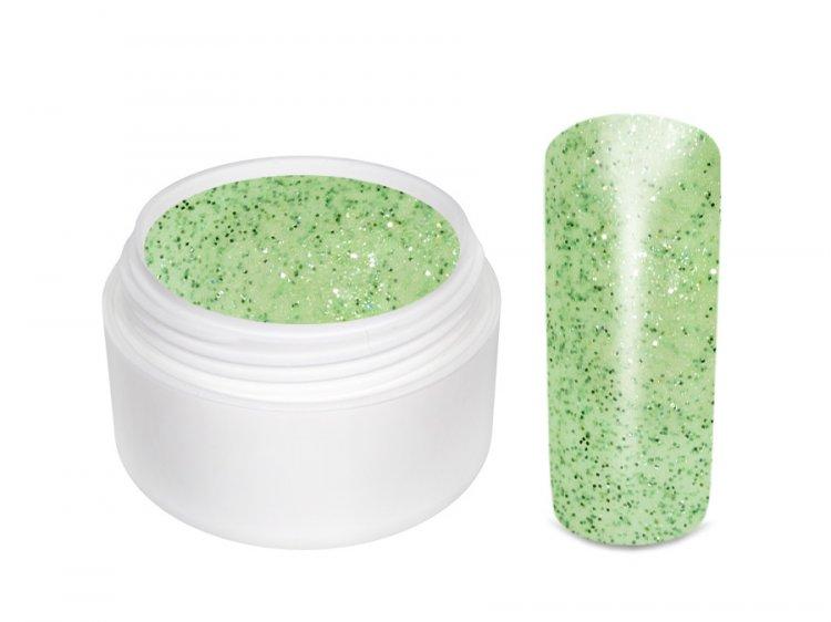 UV gel barevný glitrový Spring Green 5 ml - Péče o ruce Barevné UV gely Glitrové barevné UV gely