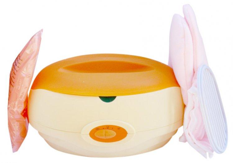 Parafínová vana na ruce s kovovým vnitřkem oválná - Péče o ruce Parafínový systém Parafínové vany