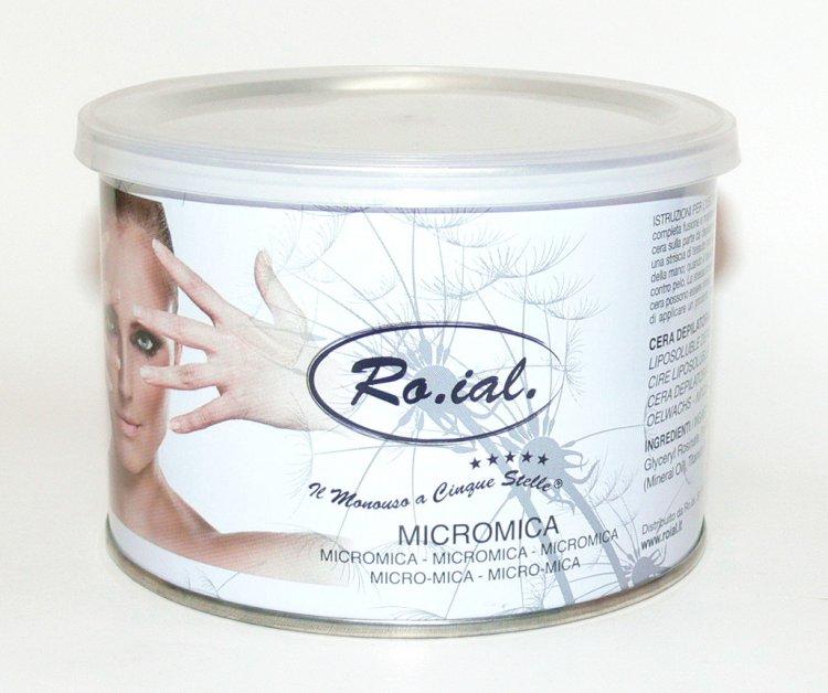 Roial Depilační vosk micromica v plechovce 400 ml - Péče o ruce Přípravky na depilaci Depilační vosky