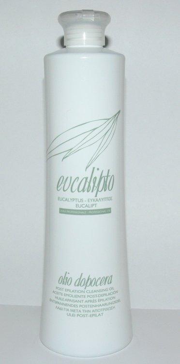 Roial Podepilační olej eukalyptový 500 ml - Přípravky na depilaci Depilační papíry a přípravky