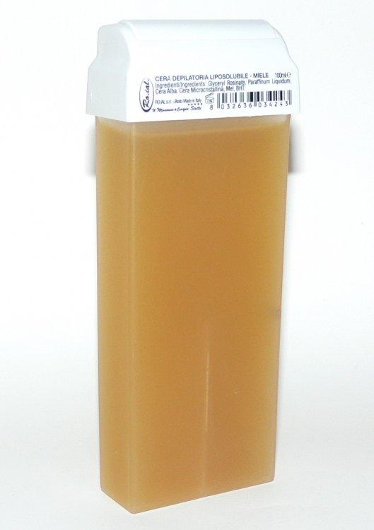 Roial Depilační vosk přírodní s hlavicí na tělo 100 ml