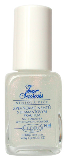 Four Seasons Zpevňovač nehtů s diamantovým prachem 14 ml