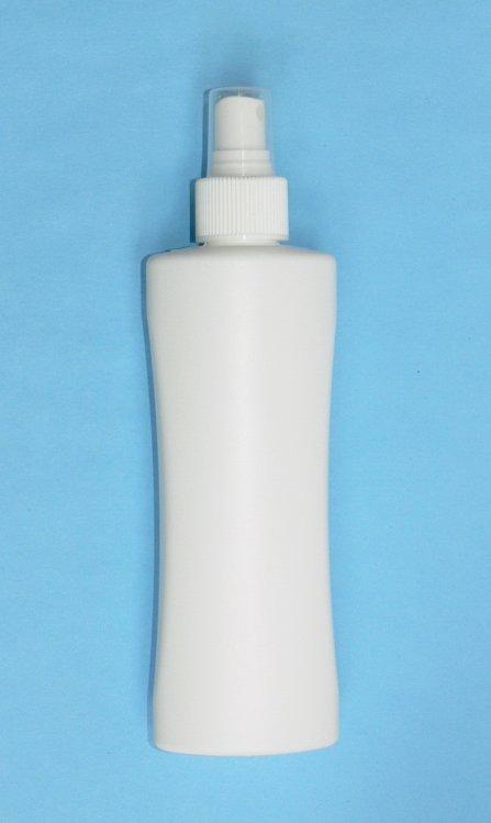 Lahvička Nova HDPE 200 ml bílá vč. rozprašovače - Péče o ruce Obalový materiál