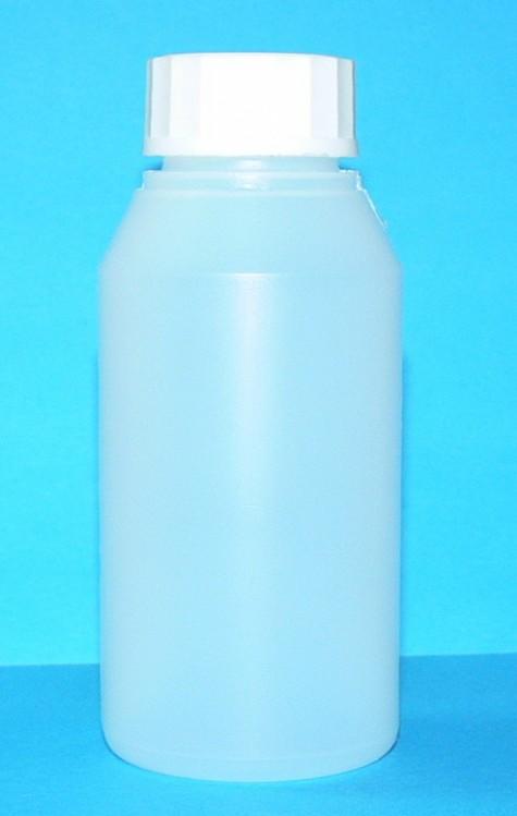 Láhev HDPE 100 ml transparent vč. víčka