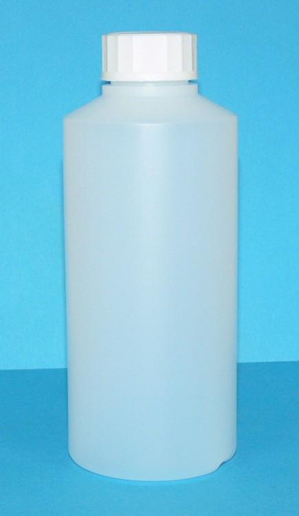 Láhev HDPE 250 ml transparent vč. víčka