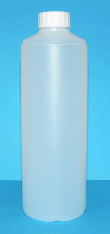 Láhev HDPE 500 ml transparent vč. víčka