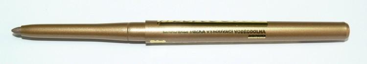 Princessa Eyeliner Pencil linkovací tužka vysouvací, voděodolná zlatohnědá - Dekorativní kosmetika Tužky linkovací