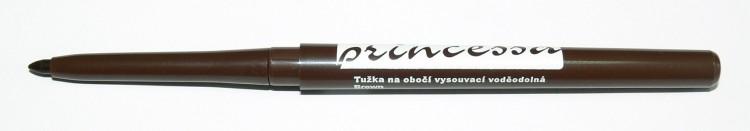 Tužka na obočí vysouvací, voděodolná - hnědá - Péče o ruce Dekorativní kosmetika Tužky na obočí