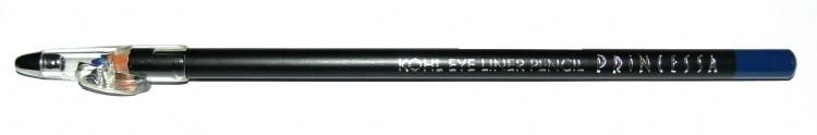 Princessa KOHL PENCIL tužka linkovací dřevěná s ořezávátkem tmavě modrá - Dekorativní kosmetika Tužky linkovací