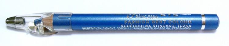 Princessa EYE SHADOW PENCIL tužka stínovací voděodolná s ořezávátkem ledově modrá - Dekorativní kosmetika Tužky stínovací