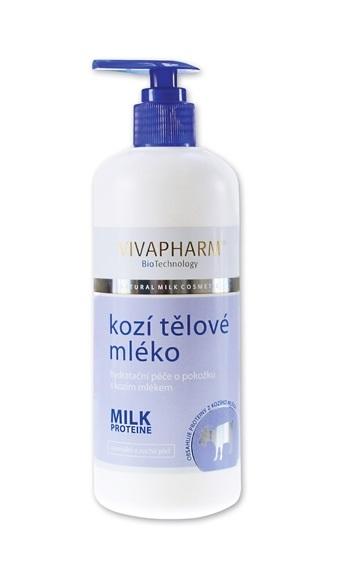 Vivapharm Kozí hydratační tělové mléko 400