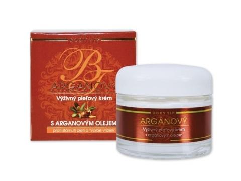 Vivaco Body Tip Výživný pleťový krém s arganovým olejem 50 ml