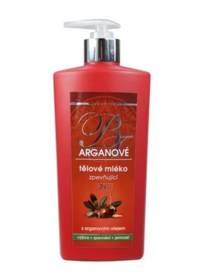 Vivaco Body Tip Arganové tělové mléko zpěvňující 3v1
