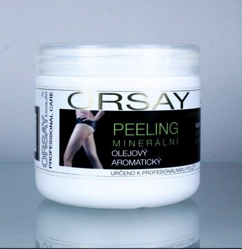 Vivaco Orsay Minerální olejový detoxikační peeling na nohy a ruce s mořskými řasami 500 ml