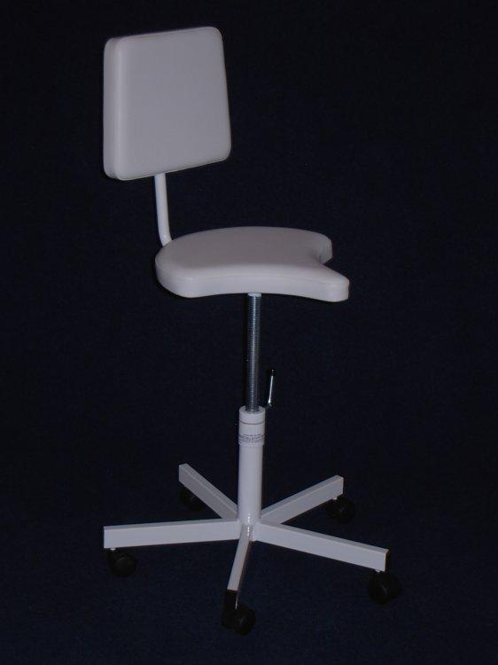 Židle vykrojená mechanicky stavitelná - Péče o ruce SLEVY - VÝPRODEJ