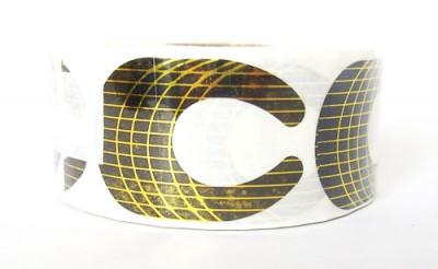 Nehtová forma nehty papírová profi 100 ks - Nehtové tipy pro nehtovou modeláž Příslušenství k tipům