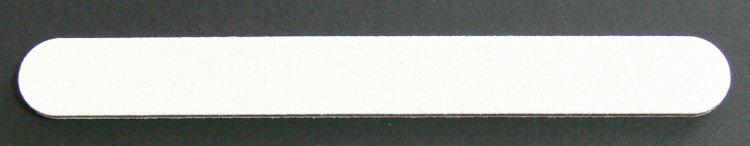 Pilník na nehty 100/180 bílý - Leštičky, leštící bloky a pilníky na nehty pro nehtovou modeláž a manikúru Pilníky na nehty pro nehtovou modeláž a manikúru - rovné