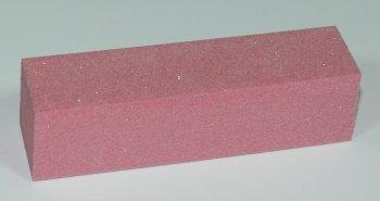 Leštící blok na nehty čtyřstranný růžový jemný 120/180