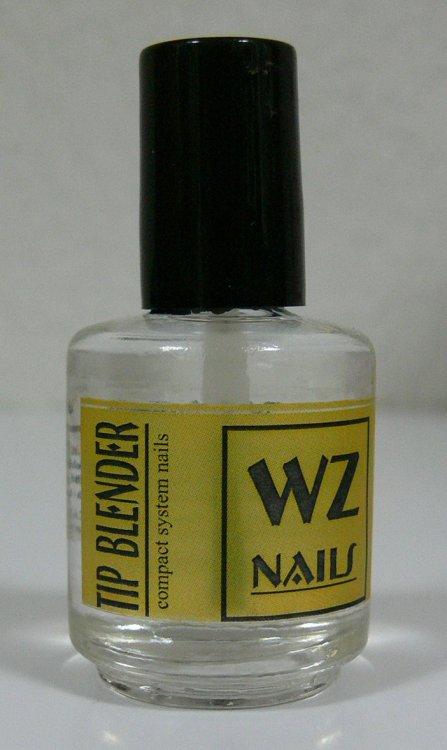 Tekutý pilník Nail tip blender 15 ml - Leštičky, leštící bloky a pilníky na nehty pro nehtovou modeláž a manikúru Příslušenství