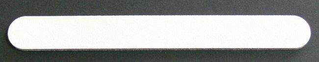 Pilník na nehty 100/100 bílý