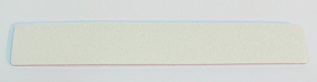 Pilník na nehty 100/180 bílý Jumbo - Leštičky, leštící bloky a pilníky na nehty pro nehtovou modeláž a manikúru Pilníky na nehty pro nehtovou modeláž a manikúru - zahnuté a rovné široké
