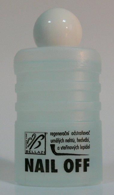 Bellazi Nail Off odstraňovač umělých nehtů 50 ml - Péče o ruce Nehtové tipy pro nehtovou modeláž Příslušenství k tipům