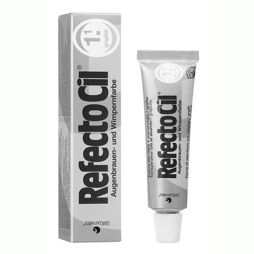 RefectoCil Barva na řasy a obočí grafitová - 15ml - Péče o ruce Barvy na řasy a na obočí
