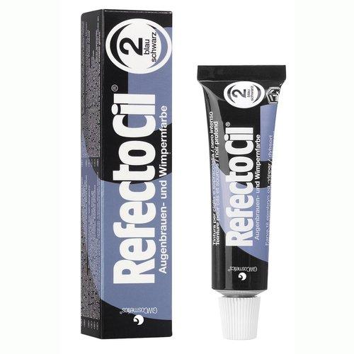 RefectoCil Barva na řasy a obočí modročerná - 15 ml - Péče o ruce Barvy na řasy a na obočí