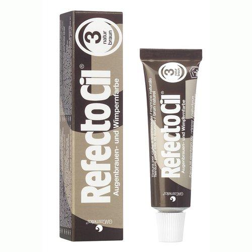 RefectoCil Barva na řasy a obočí přírodní hnědá - 15 ml - Péče o ruce Barvy na řasy a na obočí