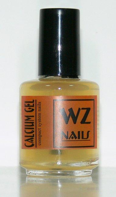 Zpevňující podkladový lak s vápníkem Calcium Gel 15 ml - Přípravky k péči o nehty a k manikúře Přípravky k péči o nehty a k manikúře WZ nails